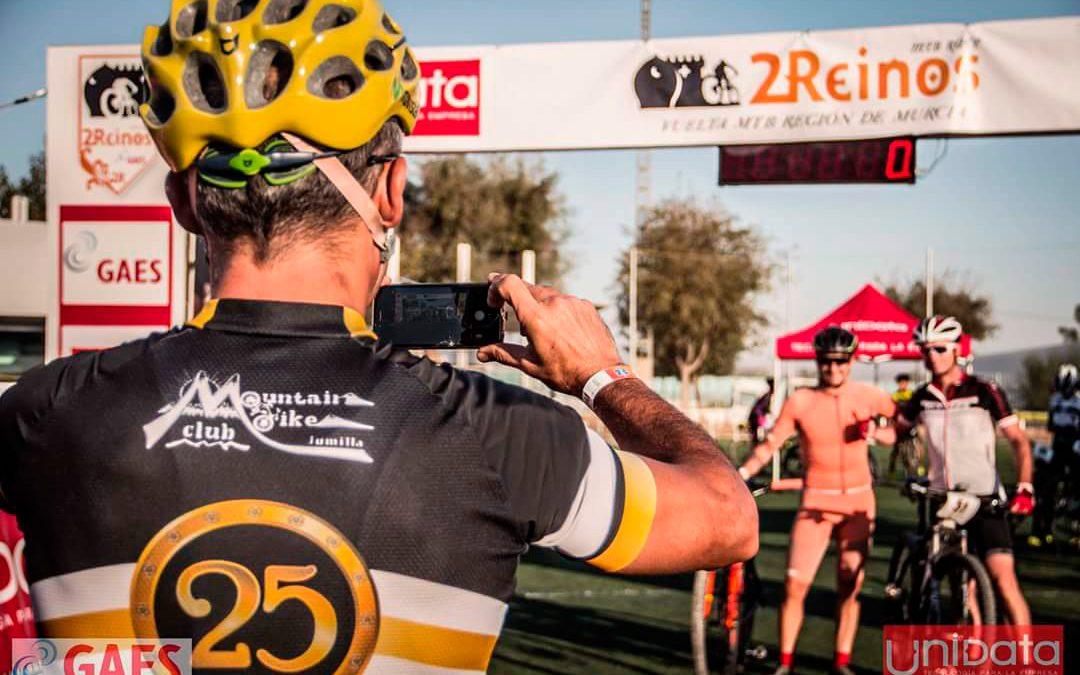 Ángel Lencina ganador de la 2 Reinos MTB Race