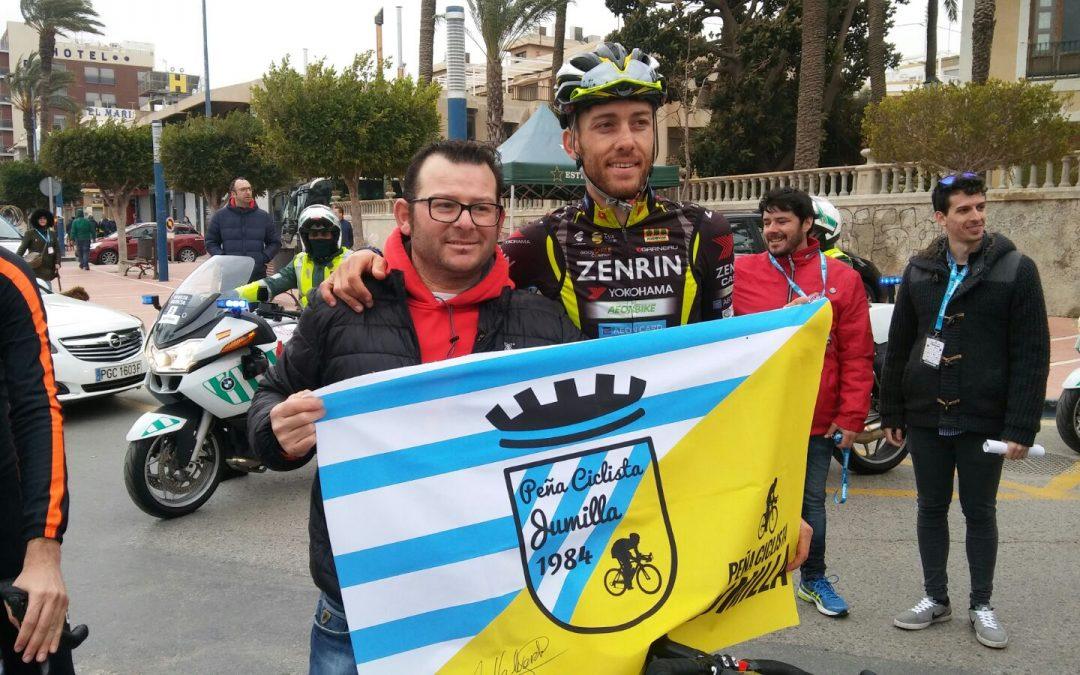 El jumillano Salvador Guardiola en la Vuelta a Murcia.