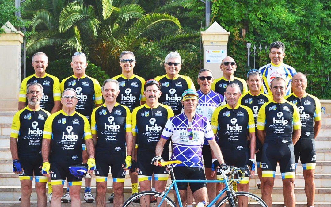 La Peña Ciclista Jumilla rinde homenaje a sus creadores